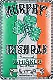 Blechschild 20x30cm gewölbt Murphy´s Irish Bar Irisch Whiskey Irland Deko Geschenk Schild