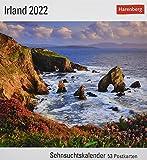 Irland Sehnsuchtskalender 2022 - Reisekalender - Postkartenkalender mit Wochenkalendarium - 53 perforierte Postkarten - zum Aufstellen oder Aufhängen - 16 x 17,5 cm: Sehnsuchtskalender, 53 Postkarten