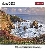 Irland Kalender 2022: Sehnsuchtskalender, 53 Postkarten