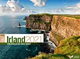 Irland ReiseLust Kalender 2021, Wandkalender im Querformat (45x33 cm) - Natur- und Reisekalender, Küste und Kultur: Von Dublin bis nach Kerry