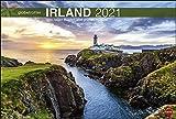 Irland Globetrotter - Von rauen Küsten und grünen Hügeln - Reisekalender 2021 - Foto-Wandkalender mit Monatskalendarium - Format 58 x 39 cm