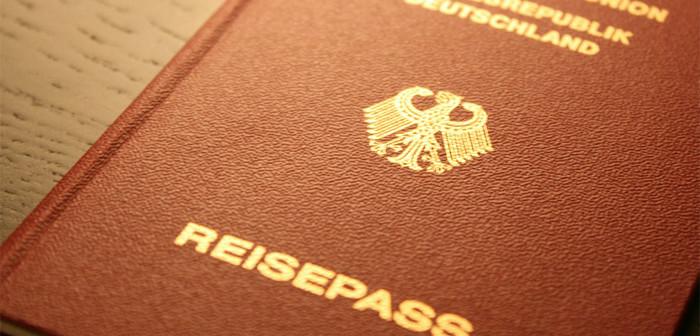 Ein deutsche Reisepass