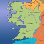 Irland-Westen-Karte-Counties