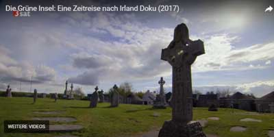 Die Doku über Irland von 3 Sat beginnt mit einer Szene auf einem Friedhof