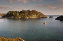 Der Lough Hyne, ein Meerwassersee unweit von Skibbereen